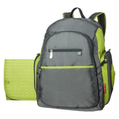 Fisher-Price Ripstop Diaper Bag Backpack - Grey/Green