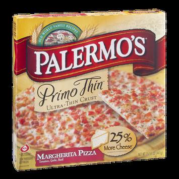 Palermo's Primo Thin Pizza Margherita Ultra-Thin Crust