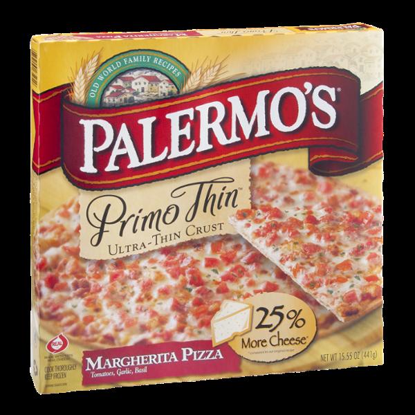 Palermos Primo Thin Pizza Margherita Ultra Thin Crust Reviews