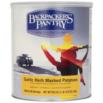 Backpacker's Pantry Garlic Herb Mashed Potatoes, 29.6 Ounce