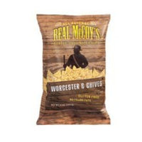 Real McCoy's Rice Chips Worchester and Chives Gluten Free, 6-Ounce (Pack of 12) ( Value Bulk Multi-pack)