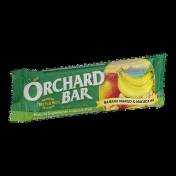 Orchard Bar Banana Mango & Macadamia