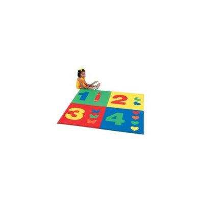 Children's Factory 1-2-3-4 Square Mat