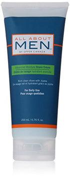Upper Canada Soap All About Men Advance Moisture Shave Cream