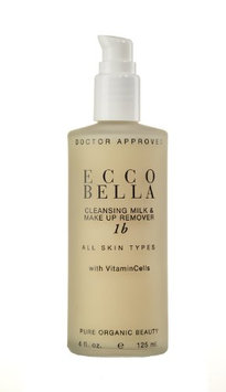 Ecco Bella Cleansing Milk and Make up Remover with Azulene 4 fl oz.