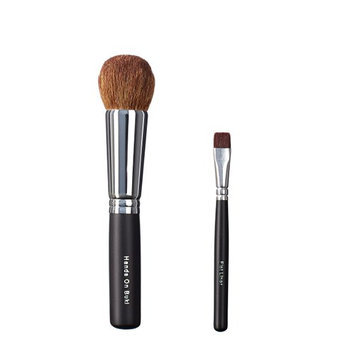 ON&OFF Hand on Buki and Flat Liner Makeup Brush