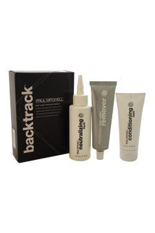 Paul Mitchell Backtrack Hair Color Remover 3 Piece Kit for Unisex