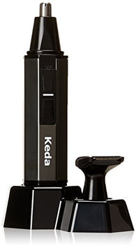 HomeTek USA HT Lightweight and Washable 3-in-1 Nose Ear and Beard Outline Hair Trimmer