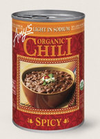 Amy's Kitchen Organic Spicy Chili, Light In Sodium