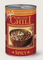 Amy's Kitchen Organic Spicy Chili, Light In Sodium