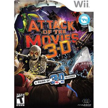 Inetvideo N02-011378 Attack of The Movies 3D - Nintendo WII