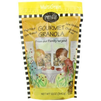 Partners Multigrain Gourmet Granola, 12-Ounce Pouches (Pack of 6)
