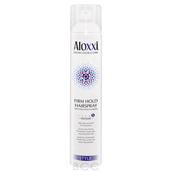 Aloxxi Style Firm Hold Hair Spray Ultra Strong Hold UV Protection - 9.1 oz