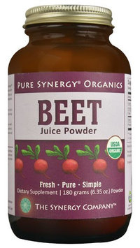 The Synergy Company Pure Synergy Organics Beet Juice Powder 6.35 oz