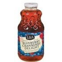 L & A Juice Blueberry/Cranberry Delight (6x32 Oz)