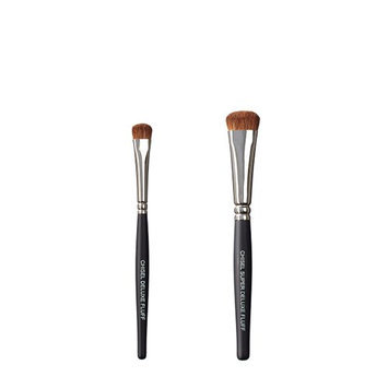 VEGAN LOVE The Chisel Collection Make Up Brush Set (Chisel Deluxe Fluff Super Deluxe Fluff)