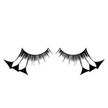 Baci Paradise Dreams Style No.604 Feather Eyelashes with Adhesive Included