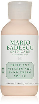 Mario Badescu Fruit and Vitamin A & D Hand Cream SPF 10