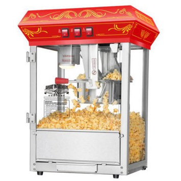 Great Northern Popcorn Company Great Northern Popcorn Red Good Time Popcorn Popper Machine, 8 Ounce