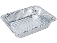 Boardwalk BWK STEAMFLDP Full Size Steam Table Pan Deep - 50-Case
