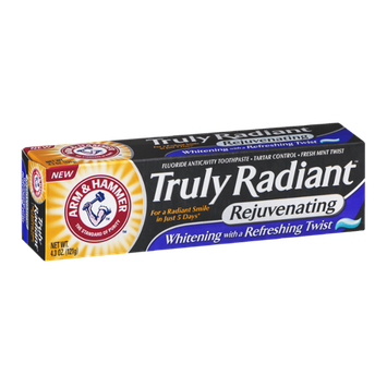 ARM & HAMMER™ Truly Radiant Fluoride Anticavity Toothpaste Fresh Mint Twist