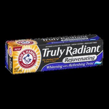Arm & Hammer Truly Radiant Fluoride Anticavity Toothpaste Fresh Mint Twist