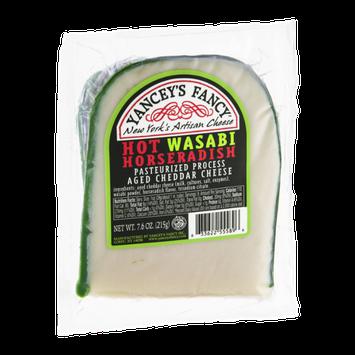 Yancey's Fancy Cheddar Cheese Hot Wasabi Horseradish