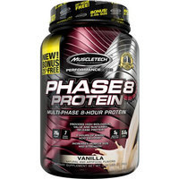 MuscleTech Performance Series Phase8 Protein Vanilla Dietary Supplement, 2.5 lbs