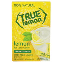 3M True Lemon Crystalized Lemon, Unsweetened, 10 Count