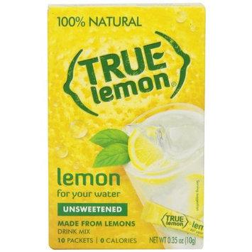 3M True Lemon Crystalized Lemon, Unsweetened, 10 Count