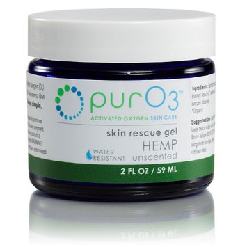 Ozonated Hemp Oil Rescue Gel PurO3 2 oz Gel