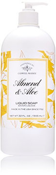 Caswell-Massey Almond and Aloe Liquid Soap