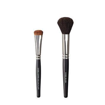 VEGAN LOVE The Chisel Collection Make Up Brush Set (Super Deluxe Fluff Chisel Blush)
