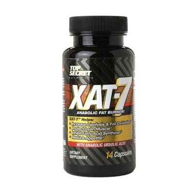XAT -7 by Top Secret Nutrition 14 Caps