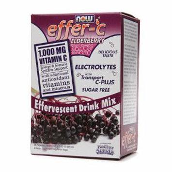 NOW Foods Effer-C Effervescent Drink Mix