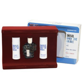 Diesel Only The Brave Eau de Toilette Gift Set for Men