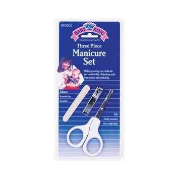 Baby King Manicure Set 3 Piece (6-Pack)