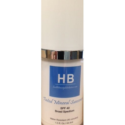 HB Tinted Mineral Sunscreen SPF 40 Broad Spectrum