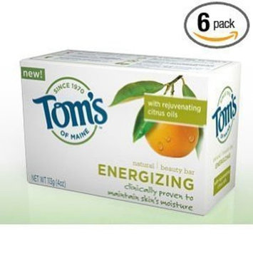 Toms Of Maine Tom's of Maine Moisturizing Bar Energizing, 4-Ounces Bars (Pack of 6)