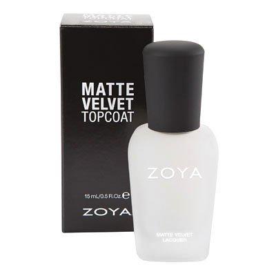 Zoya Matte Velvet Nail Lacquer Topcoat