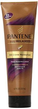 Pantene Pro-V Truly Relaxed Hair Oil Creme Moisturizer 8.7 Fl Oz