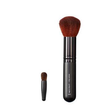 Makeover Vegan Love Mini Eye Buki and Jumbo Buffer Brush