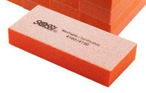 Sassi 2way Mini Emery Block White/Orange