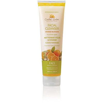 Creation's Garden Exfoliator Facial Cleanser Orange Blossom