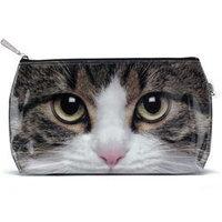Catseye Tabby Cat Cosmetic Wash Bag