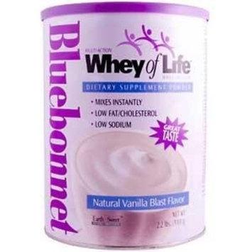BlueBonnet - Whey Of Life Protein Powder Natural Vanilla Blast - 2 lbs Powder