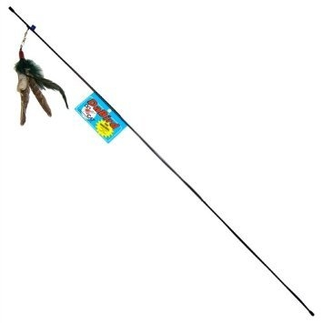 Go Cat Da Bird 36 Pole Feather Cat Toy