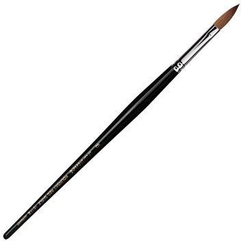 Da Vinci Series 15142 Nail Brush Pointed Oval Long Kolinsky Red Sable Acetone Resistant Handle