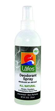 Lafes 100% Natural Deodorant Spray