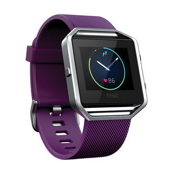 Fitbit - Blaze Smart Fitness Watch (large) - Plum